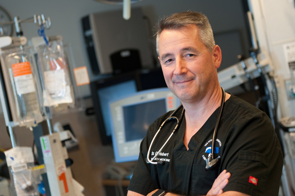 Dr. Guy J. Hébert, Head of the Department of Emergency Medicine at The Ottawa Hospital (TOH)