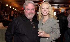 From left, event chair Bobby Kerr, with Brookfield Global Integrated Solutions, and Peggy Taillon, president of the Bruyère Foundation, at the Irish Canadian Saint Patrick's Week Luncheon held at the Heart & Crown Irish Pub in the ByWard Market on Friday, March 10, 2017. (Caroline Phillips / Ottawa Business Journal)