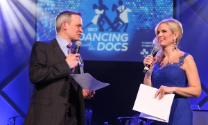 Graham Richardson and Patricia Boal from CTV Ottawa News hosted the Dancing with the Docs benefit gala for The Ottawa Hospital, held at the Hilton Lac-Leamy on Saturday, April 8, 2017. (Photo by Caroline Phillips)