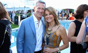Fred Seller, founding law partner at BrazeauSeller, and his wife, Stacey, at the Twinkle Gala held Thursday, June 8, 2017, at Michael Potter's Rockcliffe Park estate. (Photo by Caroline Phillips)