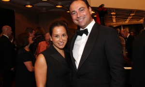Sam Mizrahi, president of sponsor Mizrahi Developments, with his wife Micki at the National Arts Centre Gala held at the NAC on Saturday, September 16, 2017. Photo by Caroline Phillips