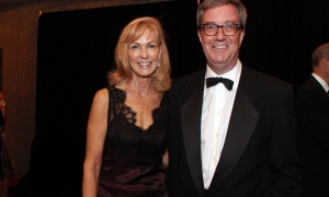 Mayor Jim Watson with his date, Blair Dickerson, at the NAC Gala held at the National Arts Centre on Saturday, September 16, 2017. Photo by Caroline Phillips