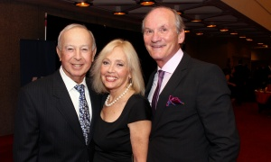 From left, Stan Ages, president of Paramount Property Management, with Sandi Cook and Eddy Cook, president of Sprint Courier, at the National Arts Centre Gala held at the NAC on Saturday, September 16, 2017. Photo by Caroline Phillips