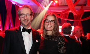 Gerald Butts, principal secretary to prime minister Justin Trudeau, with his wife, Jodi, at The Ottawa Hospital Gala held at The Westin on Saturday, October 28, 2017. Photo by Caroline Phillips