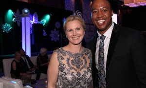 Annette Goerner and Henry Burris at the Kaleidoscope of Hope gala held at the Brookstreet Hotel on Friday, February 9, 2018. Photo by Caroline Phillips