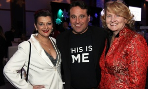 Julie Beun with Tony House and Karen McCrimmon at the Kaleidoscope of Hope gala held at the Brookstreet Hotel on Friday, February 9, 2018. Photo by Caroline Phillips