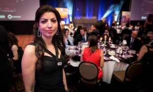 Orléans Chamber of Commerce operations manager Lina Hariri. Photo by Shawn Peters
