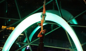 Habitat for Humanity featured performances by Montreal's Cirque Carpe Diem