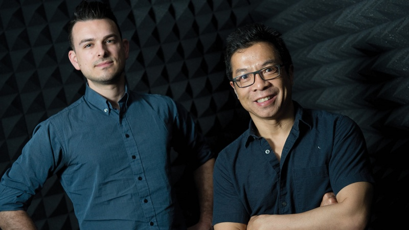 Solink's Cory Michalyshyn and Norm Wong