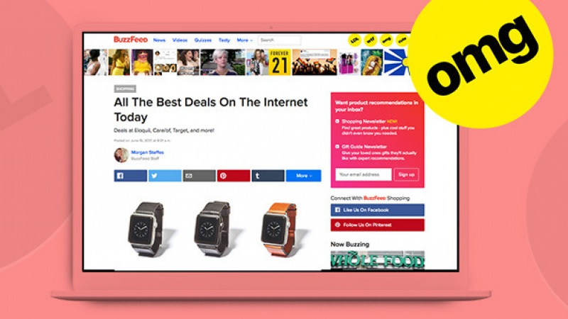 Shopify added BuzzFeed as a channel partner. You won\u2019t believe what happened next