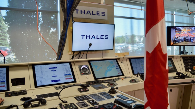 Thales Canadas Model Ship Bridge In Ottawa Offices Photo By Craig Lord OBJ