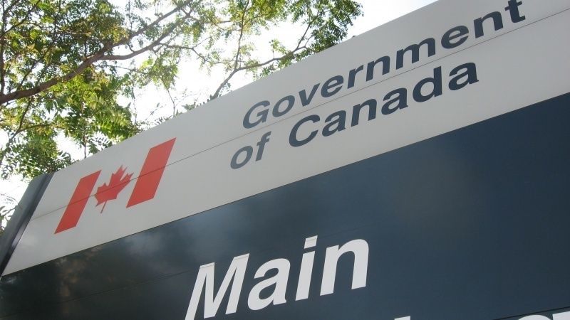 Government of Canada sign