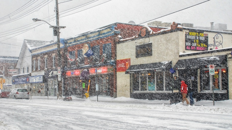 Elgin Street winter