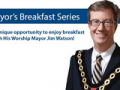 Jim Watson and the event title