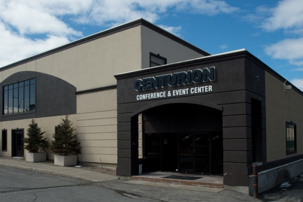 The new facade of the Centurion Conference and Event Center