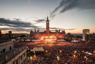 Canada Day Parliament Hill