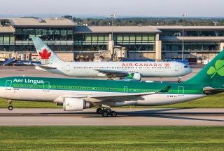 Diverted aircraft at YOW  July 31, 2017. PHOTO BY Jan Jasinski