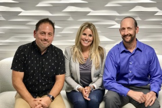 From left to right: Chad Holliday, VP, Product Consulting at Stratford Managers; Megan Paterson, VP of Human Resources at Kinaxis; Mike D'Amico, VP & Practice Lead Human Resources at Stratford Managers.