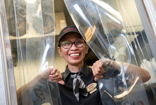 Editha Agustin, the Rideau Street Tim Hortons' assistant manager