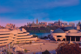The Museum of History, with Parliament Hill in the background